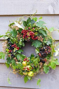 Summer Berry Wreath