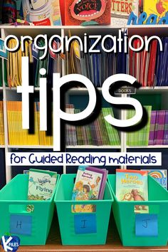 These 3 tips will help you organize your guided reading books for easy planning during your small group instruction. If you find yourself hunting for leveled readers for your strategy and skills lessons you know that it is time to put an organization system in place. This simple solution for guided reading organization will help you plan more efficiently because your leveled library will be right at your fingertips! #firstgrade #literacy