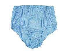 6595a07b98 Vintage Retro Style Full Briefs Panties Silky Sheer Nylon Panty Mens  Underwear Women Knickers Plus
