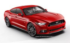 Is it wrong to think this would actually be cool?  2015 Ford Mustang sedan (artist's rendering)