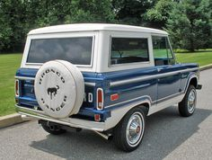 bronco | Ford Bronco Early Broncos
