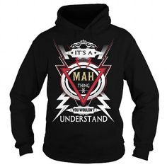 I Love  MAH  Its a MAH Thing You Wouldnt Understand  T Shirt Hoodie Hoodies YearName Birthday T shirts