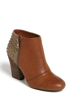 Cute, studded bootie. Get in my closet!!!