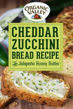 Bread Recipes, New Recipes, Vegetarian Recipes, Summer Recipes, Cooking Recipes, Favorite Recipes, Simple Recipes, Recipies, Zuchinni Recipes
