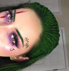 Maravilloso   Fotos  maquillaje fantasia  Pensamientos,  #fantasia #Fotos #maquillaje #maquillajefantasia #Maravilloso #Pensamientos, Joker Halloween Make-up IG: Aimebbyyy - Nuevas ideas - #aimebbyyy #Víspera de Todos los Santos #ideas #bufón - #nuevo Los expertos coinciden: para tener una piel bonita crime el truco del maquillaje no hay atajos. Ymca si bien puede resultar beneficioso tomarse u... #jokermakeup Joker Halloween Makeup, Unique Halloween Makeup, Halloween Eyes, Halloween Makeup Looks, Halloween Outfits, Scary Halloween Costumes, Cool Makeup Looks, Halloween Recipe, Halloween 2019