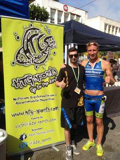 Con Vicktors Vobrusko, ganador de los no federados! Un conocido de HTG-Sports