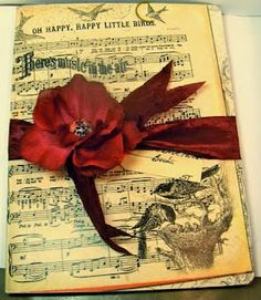 Artful Musings: Altered Composition Book