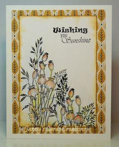 Janny's Cards Creations: Twee kaarten voor kleurenchallenges en een CAS kaart