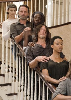 Fuck Yeah The Walking Dead, dailytwdcast:  The Walking Dead Cast behind the...
