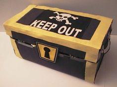 30 Incredible Tissue Box Crafts--treasure chest