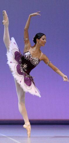 Ballet, love the costume