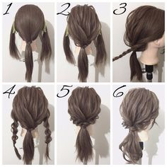 easy hairstyles for older women Hair Tutorials For Medium Hair, Medium Hair Braids, Medium Hair Styles, Short Hair Styles, Hairstyle Tutorials, Hair Medium, Work Hairstyles, Pretty Hairstyles, Braided Hairstyles