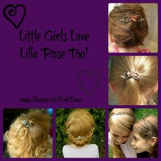 Little girls love Lilla Rose too!