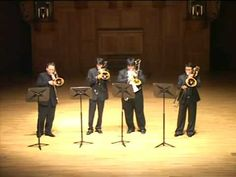 Virtuoso Trombone Ensemble play Toccata & Fugue in D minor