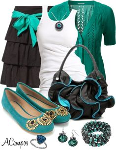 """Teal Love"" by anna-campos on Polyvore"