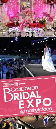 Caribbean Bridal Expo : Puerto Rico The Caribbean Bridal Expo in San Juan Puerto is the largest here on the island. It will be held on March 1 and 2, 2014 at the Pedro Rosello Convention Center in San Juan. http://www.caribbeanbridalexpo.com/