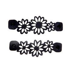 Paguro-Dianne Flower Handcrafted Tyre Inner Tube Bracelet