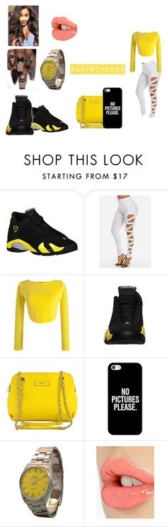 """""""Untitled #380"""" by xkprincess on Polyvore featuring Retrò, WithChic, DKNY, Casetify, Rolex and Charlotte Tilbury"""