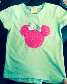 Minnie de lentejuelas súper cute!!