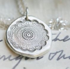 reserved lace fine silver sterling silver by eRosasjewelry c645da68daf8e