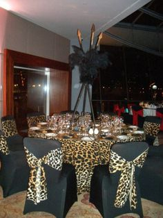 African-themed Centerpieces | Sharper Solutions | African Theme