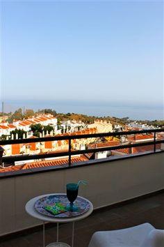 Penthouse med tre værelser i Rincón de la Victoria øst for #Malaga på Costa del Sol. www.feriebolig-spanien.dk/18655 #Feriebolig #Spanien