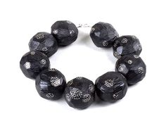 Hans Hovy  Necklace: Stars Clustering, afraid of Darkness 2012  Ebony, silver