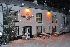 White Hart Bouth snow
