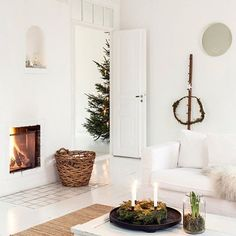 A little Christmas hygge on this snowy morning... repost from @myscandinavianhome
