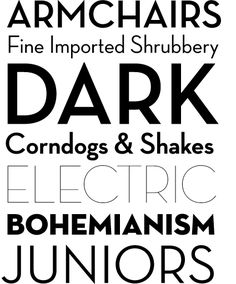 Font by House Industries - HouseInd.com.