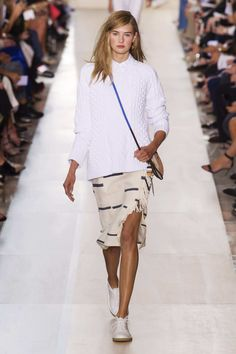 SPRING 2015 RTW TORY BURCH COLLECTION Photo: Daniele Oberrauch/Imaxtree