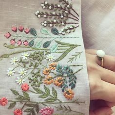 Empress Garden  #21technique #kaftan #casual #embroidery #handwork #details
