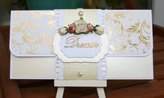 nice tri-fold card or envelope - more featured in blog - left column - year 2012