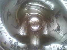 The Cloud Gate in #Chicago (a.k.a The Bean) One of those place I #love