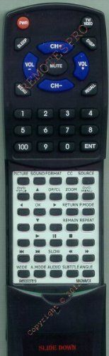 MAGNAVOX Replacement Remote Control for 20MF251W, 20MF251W37, 996500037819 by Redi-Remote. $42.95. This is a custom built replacement remote made by Redi Remote for the MAGNAVOX remote control number 996500037819. *This is NOT an original  remote control. It is a custom replacement remote made by Redi-Remote*  This remote control is specifically designed to be compatible with the following models of MAGNAVOX units:   20MF251W, 20MF251W37, 996500037819  *If you have any concerns ...