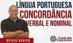 Português para Concurso (Concordância Verbal e Nominal) - Deivid Xavier