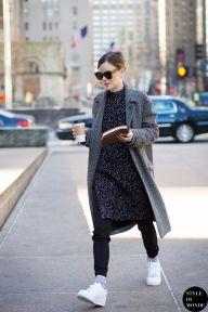 New York Fashion Week FW 2015 Street Style: Jo Ellison (STYLE DU MONDE)