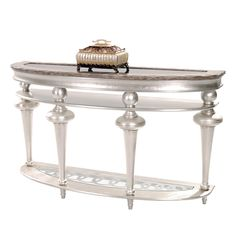 Hollywood Swank Console Table