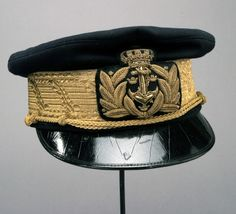 Mössa amiral Sverige, Flottan, Unionstiden