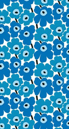 マリメッコ/ウニッコ07 iPhone壁紙 Wallpaper Backgrounds iPhone6/6S and Plus  Marimekko Unikko iPhone Wallpaper
