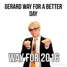 Omg comment what you think the U.S. Would be like with Gerard as president