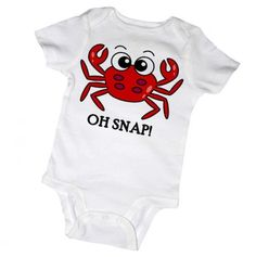 Cute crabby! Getting this for my brother's twinkies bc we're from MD :)