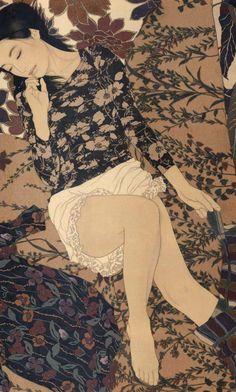 Kai Fine Art is an art website, shows painting and illustration works all over the world. Comics Illustration, Japanese Illustration, Illustrations, Botanical Illustration, Art Occidental, Art Chinois, Art Japonais, Japanese Painting, Chinese Painting