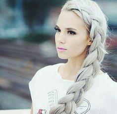 It's so beautiful #hair #braid