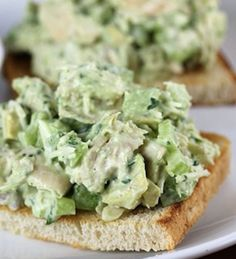 Delicious Chicken Salad with Avocado Dressing - Recipe, Main Dish, Meal Ideas, Salad