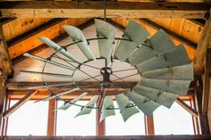 Windmill ceiling fan - perfect for rustic house