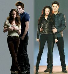 From them together in Twilight to them in Breaking Dawn things have changed Edward Cullen, Edward Bella, Twilight Bella And Edward, Twilight Saga Quotes, Twilight Saga Series, Twilight Cast, Twilight Breaking Dawn, Twilight New Moon, Twilight Series