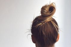 wrapped top knot   Love Blair