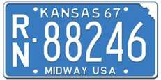 Kansas 1967 - Reno County Car Tags, Family Chiropractic, My Town, Are You The One, Kansas