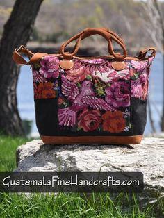 Guatemalan Fine Handcrafts: Pretty In Pink Traveling Bag Handicrafts 100% Auth...
